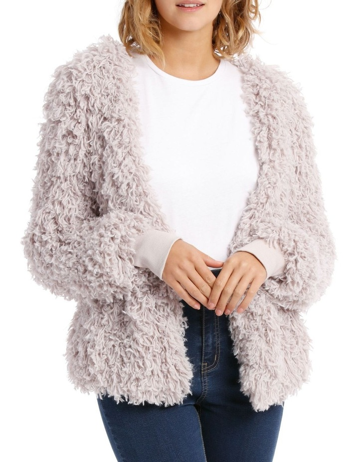 Looped Fluffy Jacket image 1