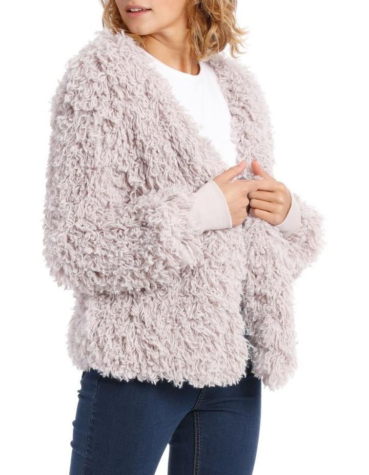 Looped Fluffy Jacket image 2