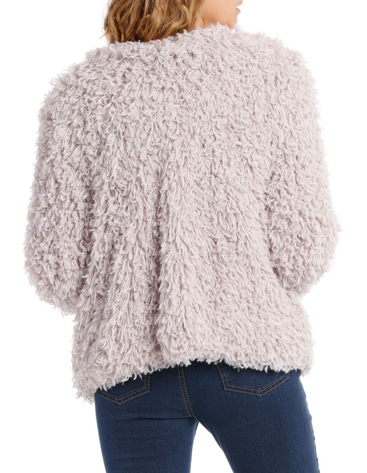 Looped Fluffy Jacket image 3