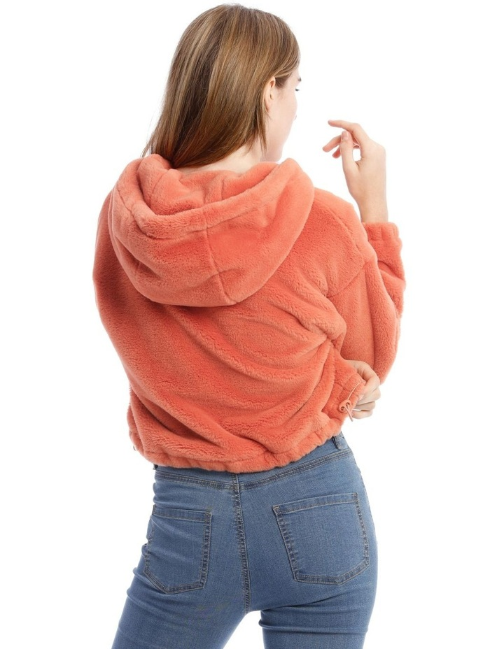 Peachy Faux Fur Pull Over image 3