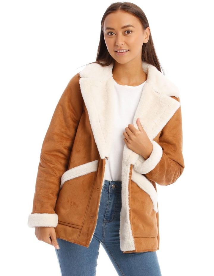 Boho Tan Coat image 1