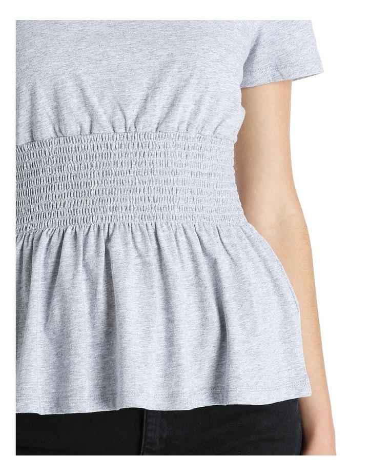 Shirred Waist Tshirt MSCW18228 image 4