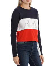 Miss Shop - Graphic Long Sleeve Top - La
