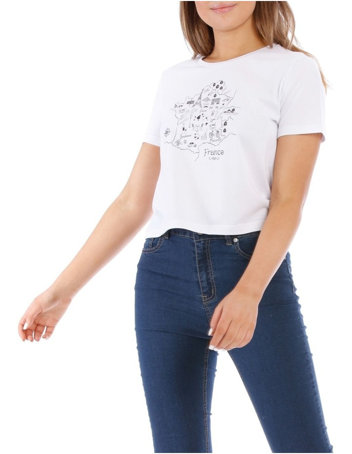 France Map Tee image 1