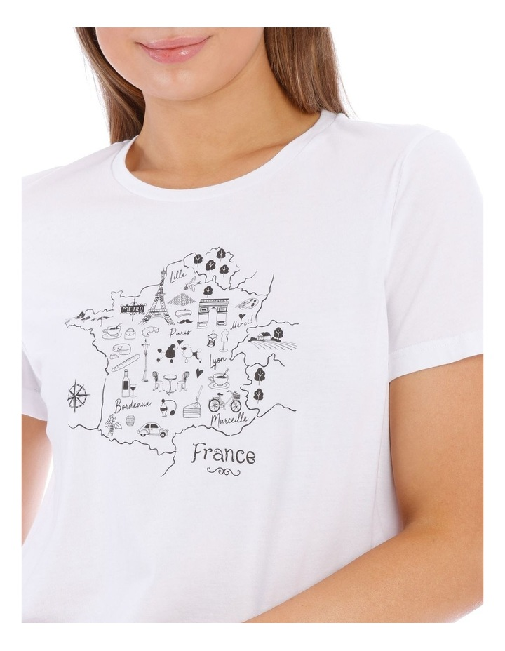 France Map Tee image 4