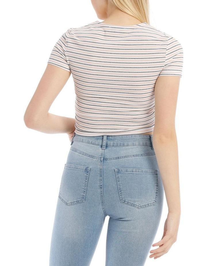 Ruched Front Tee image 3