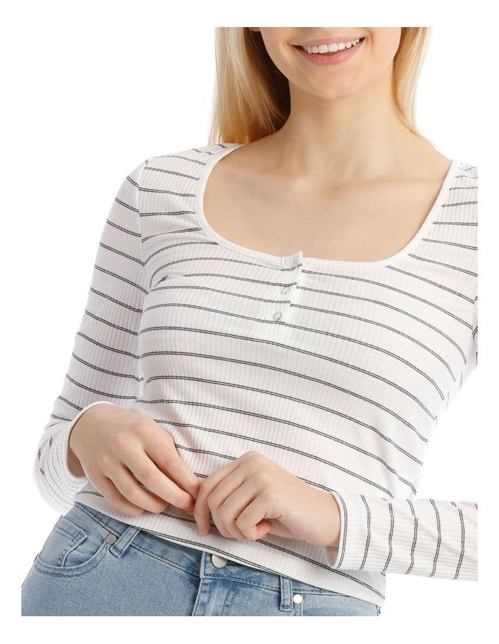 Long Sleeve Henley Tee image 4
