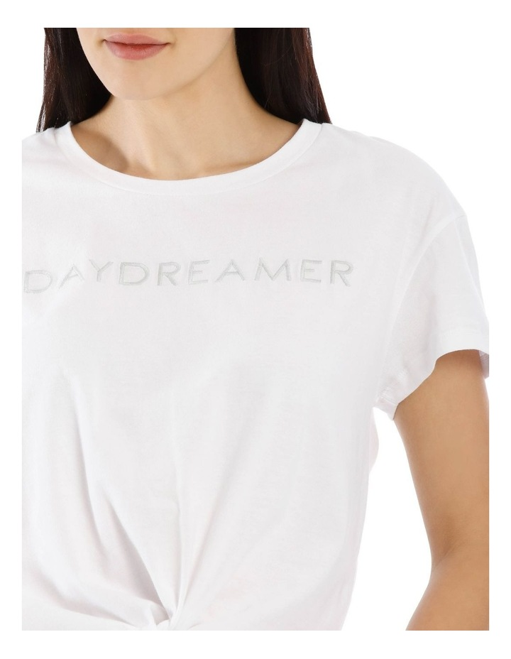Daydreamer Tie Front Tee image 4