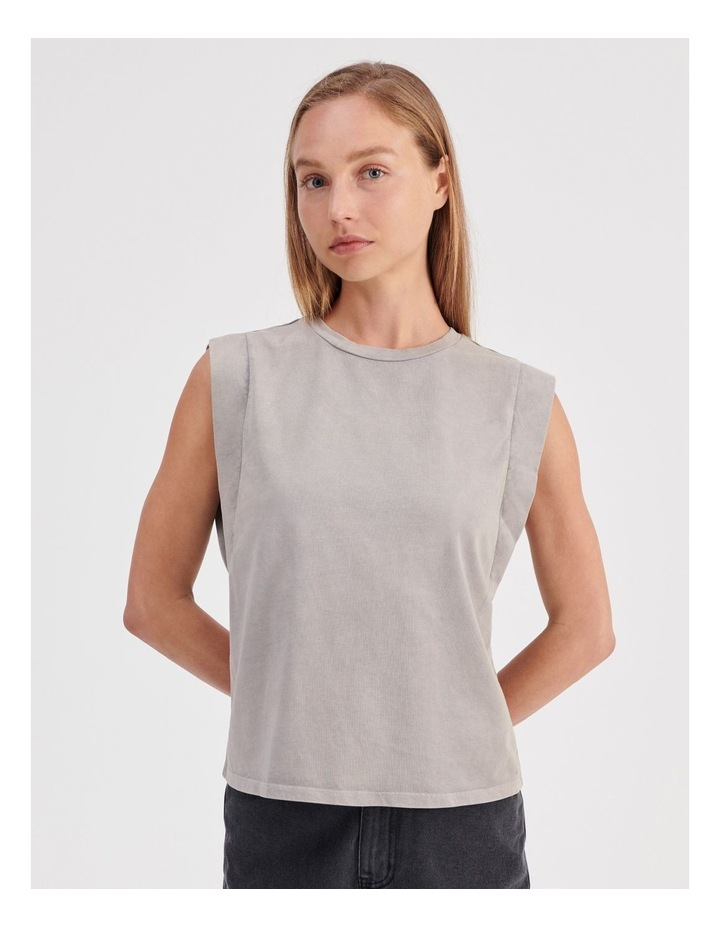 Extended Sleeve Muscle Tank image 1