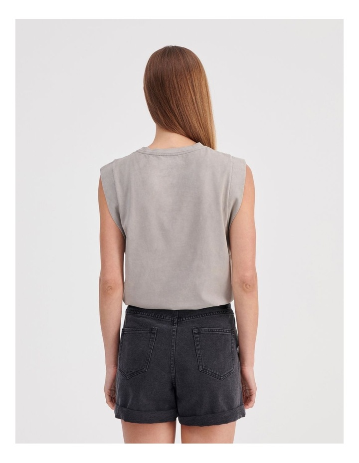Extended Sleeve Muscle Tank image 4