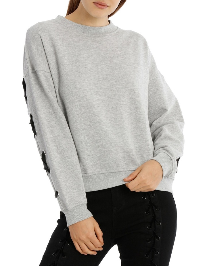 Marle Lace Up Back Sweat image 1