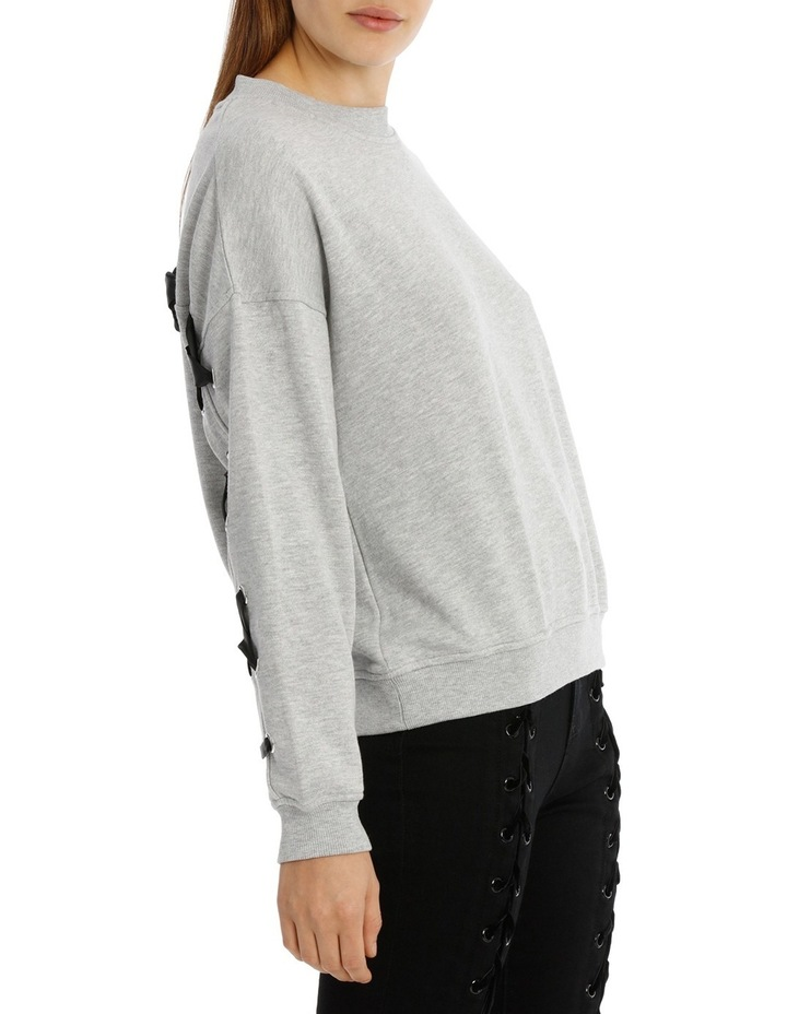 Marle Lace Up Back Sweat image 2