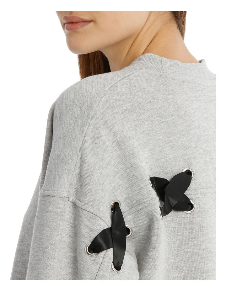 Marle Lace Up Back Sweat image 4