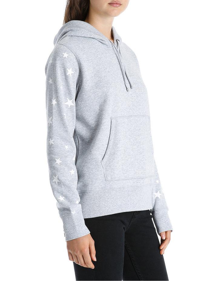 Star Sleeve Boyfriend Hoodie Sweat image 2