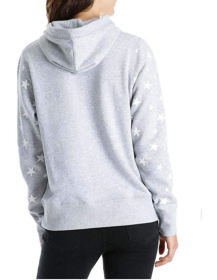 Star Sleeve Boyfriend Hoodie Sweat image 3