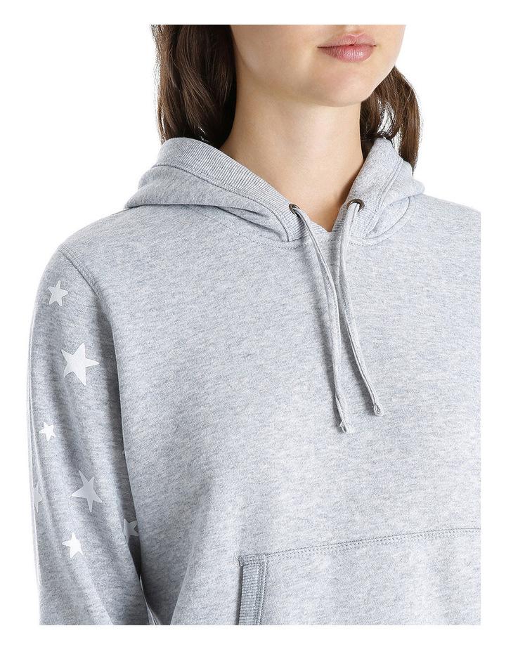 Star Sleeve Boyfriend Hoodie Sweat image 4