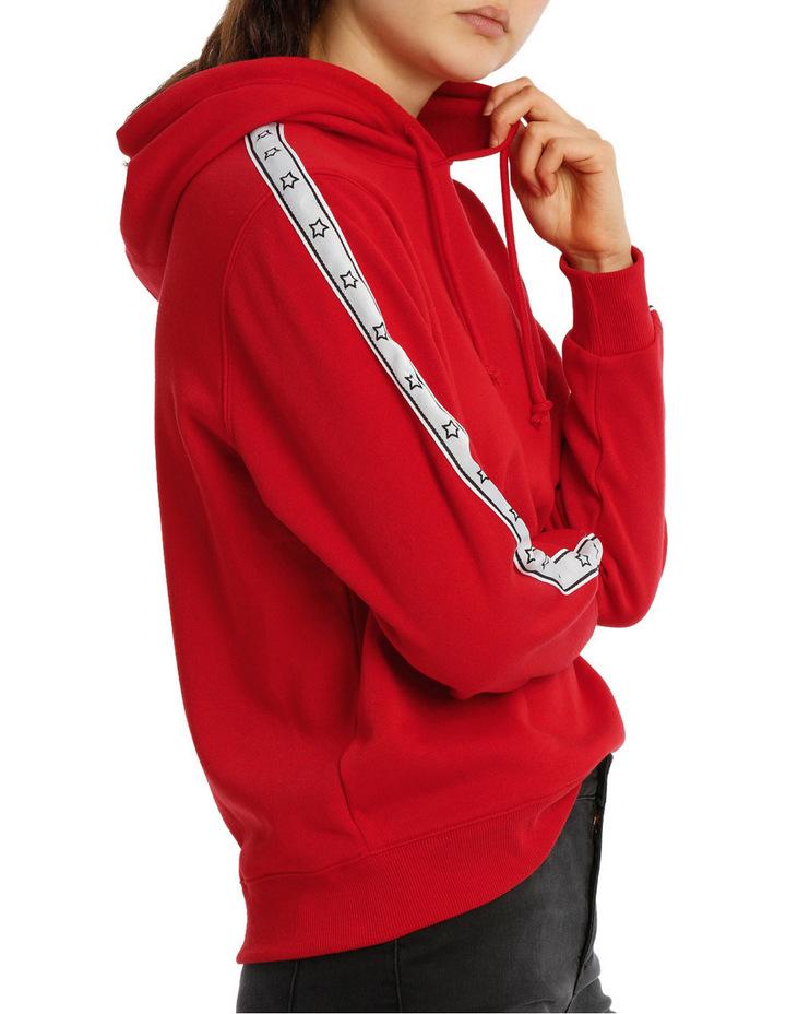 Sleeve Tipping Stripe Hoodie MSCW18233 image 2