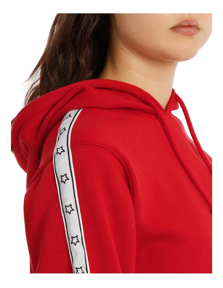 Sleeve Tipping Stripe Hoodie MSCW18233 image 4