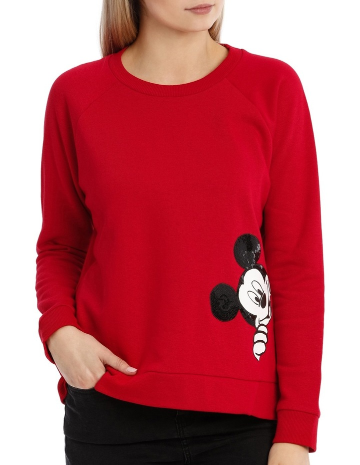 Peeking Mickey Sweat image 1