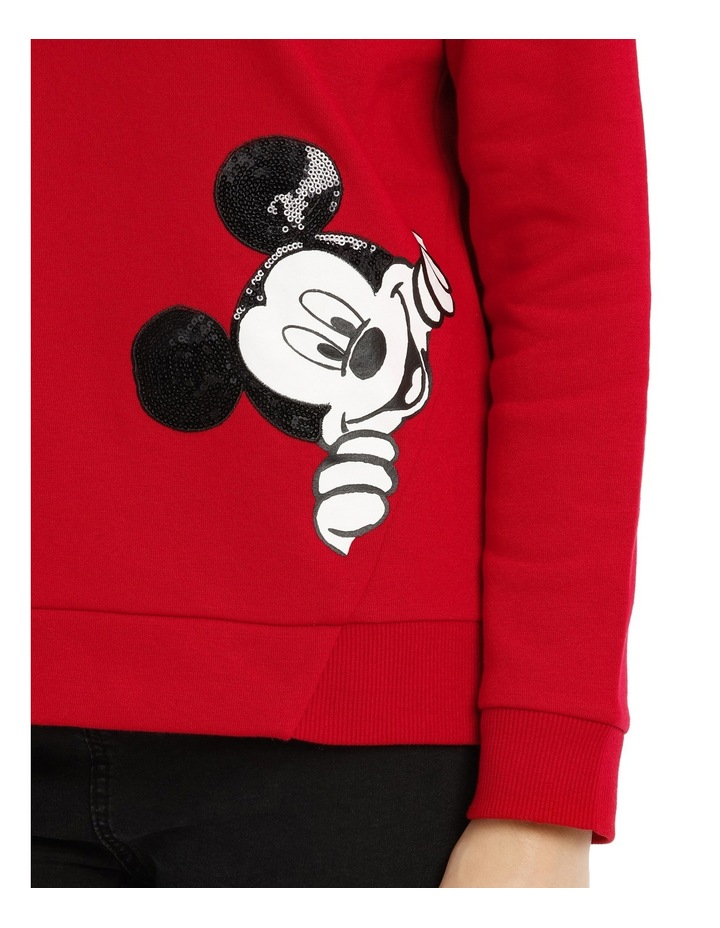 Peeking Mickey Sweat image 4