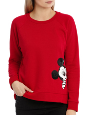 Miss Shop - Peeking Mickey Sweat
