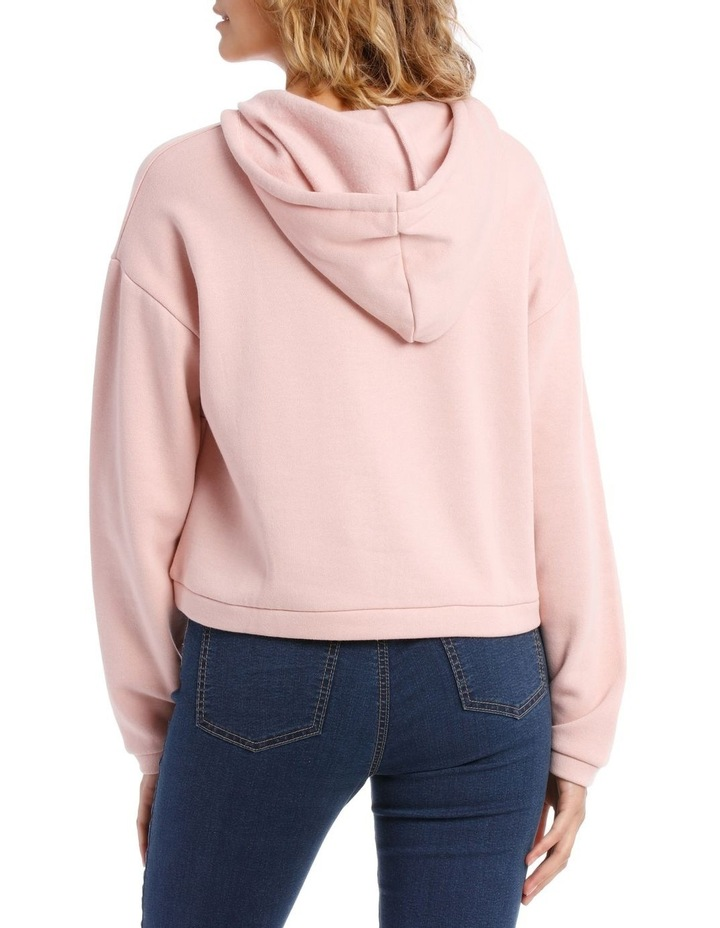Cropped Half Zip Sweat Top image 3