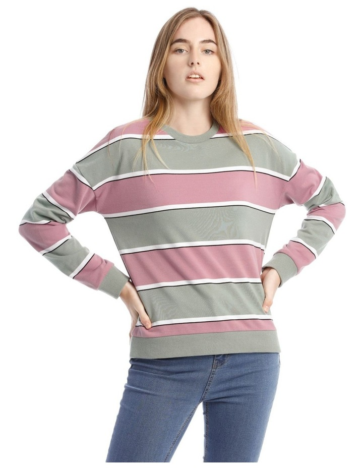 Colour Block Sweat Top image 1