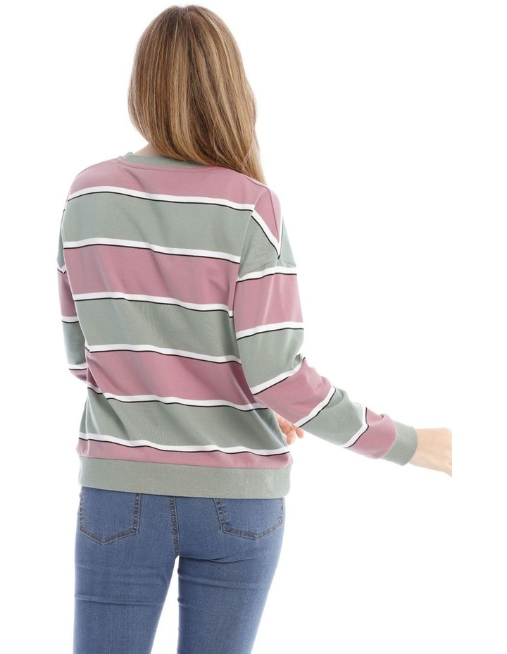 Colour Block Sweat Top image 3