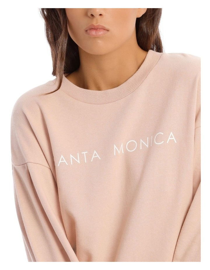 Balloon Sleeve Logo Sweat image 4