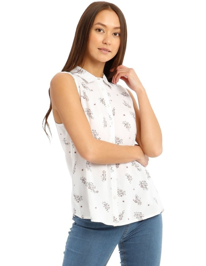 Sleeveless Motif Shirt image 1