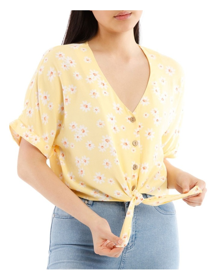 Tie Front Extended Sleeve Shirt image 4