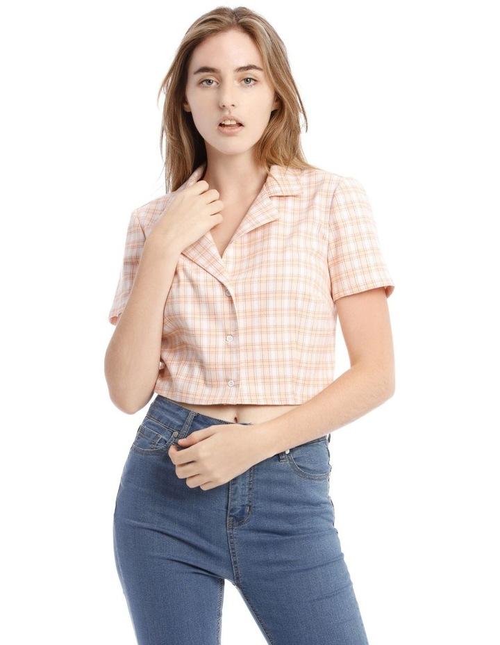 Cropped Short Sleeve Shirt image 1
