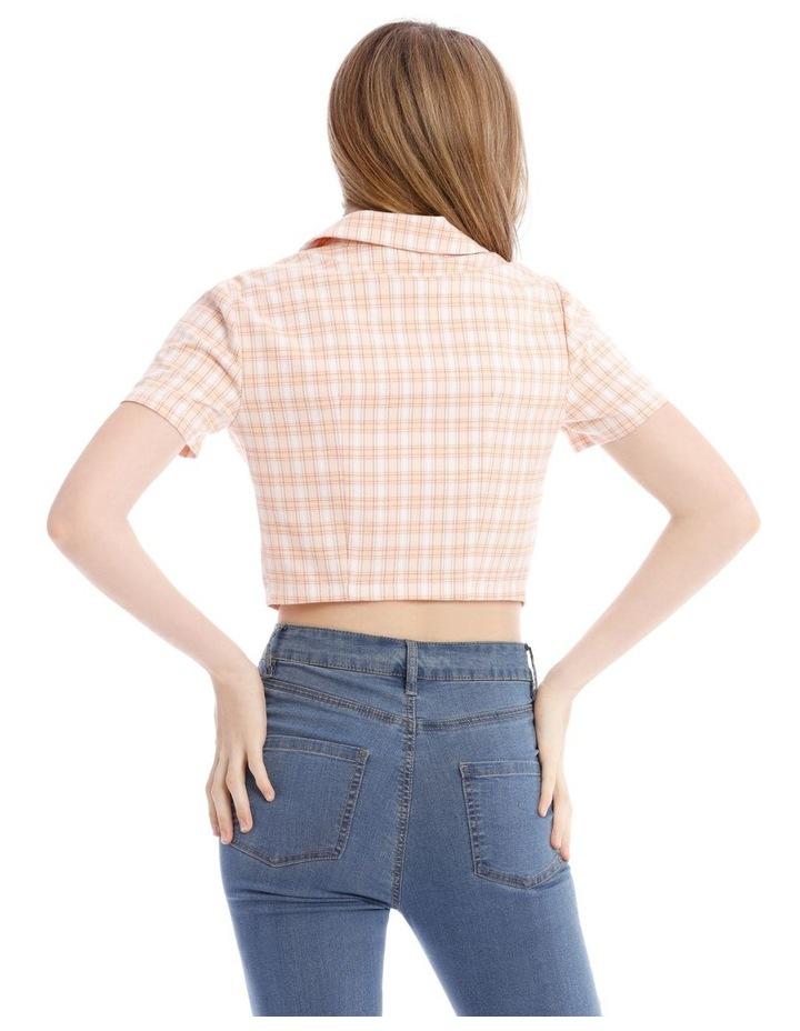 Cropped Short Sleeve Shirt image 3