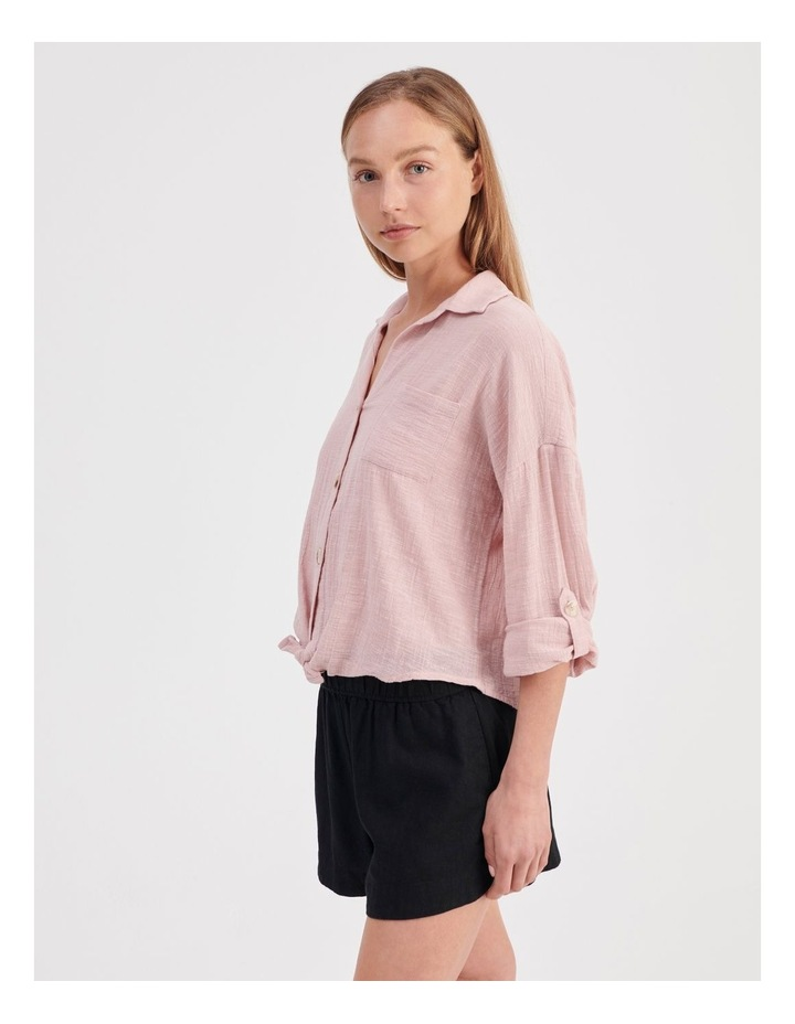 Tie Front Long Sleeve Shirt image 3