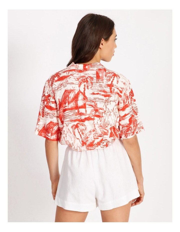 Resort Paradise Print Shirt image 3