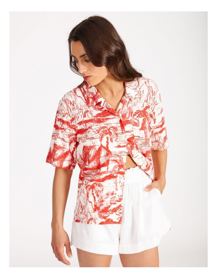 Resort Paradise Print Shirt image 4