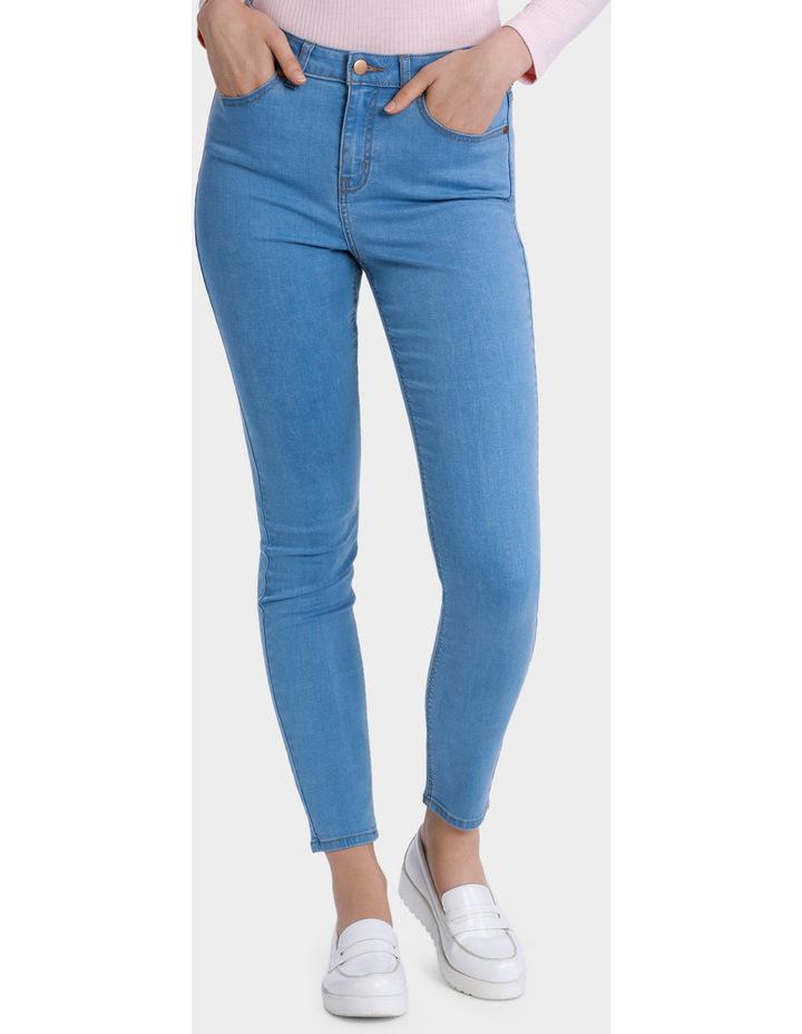 Blanc High Waist Skinny Jean image 1