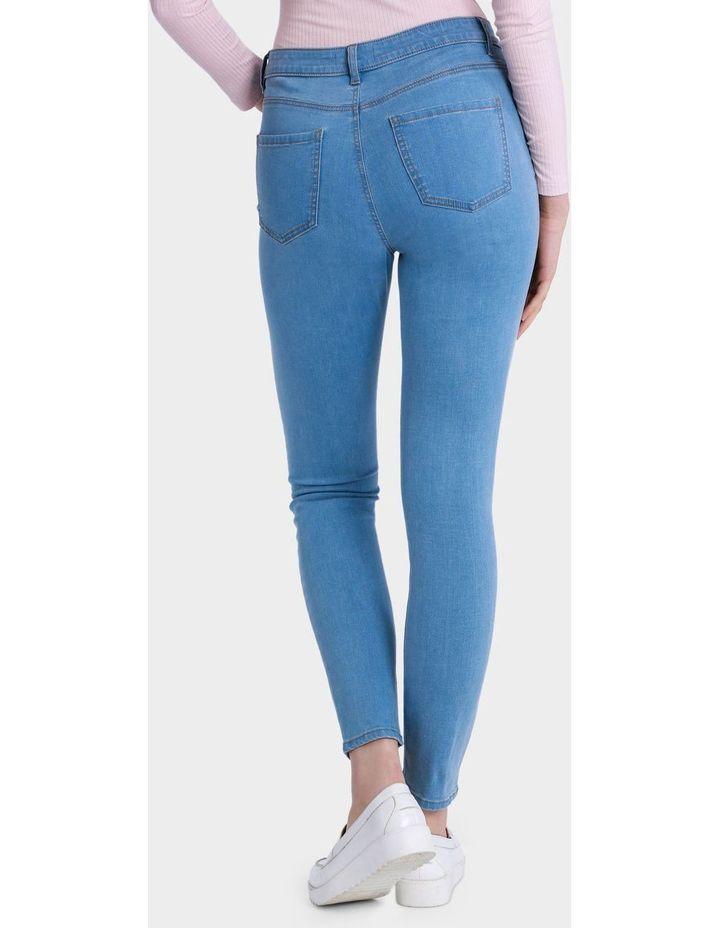 Blanc High Waist Skinny Jean image 3