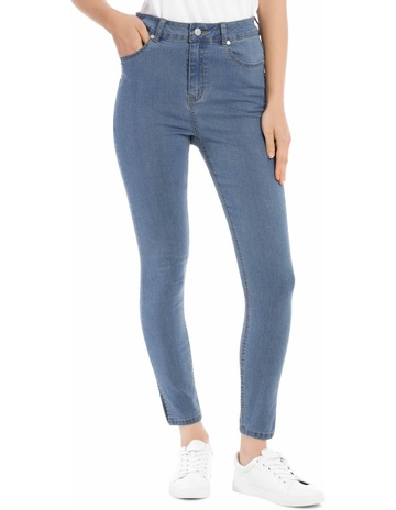 17849ee8ce Miss Shop Super High Waist Skinny Jean