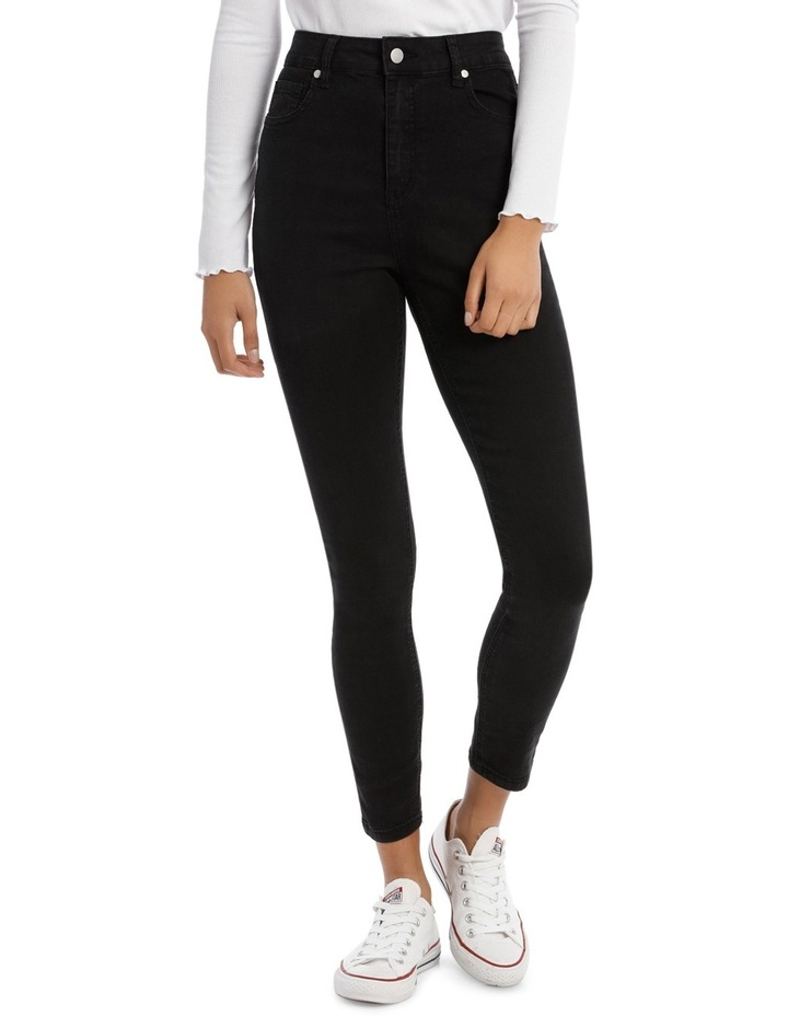 Riley Super High Waist Skinny Jean image 1