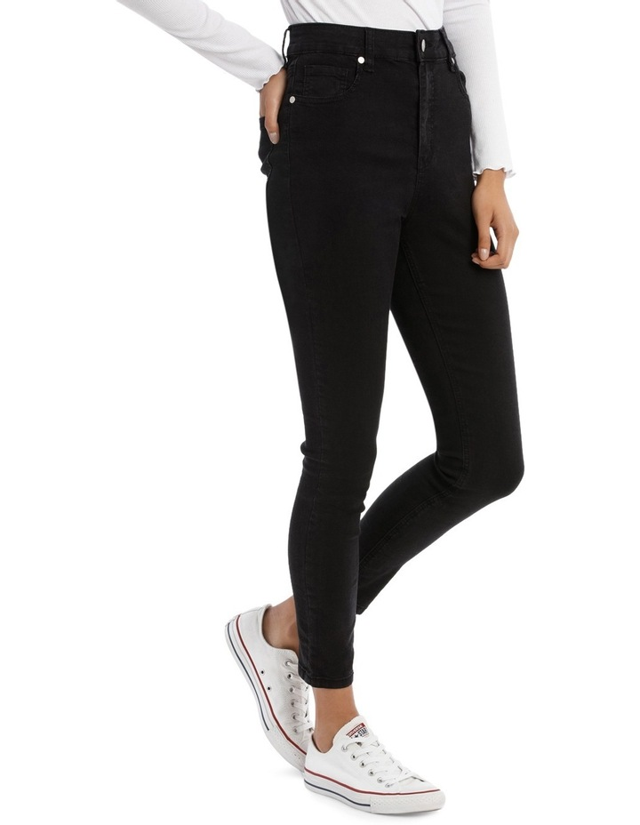 Riley Super High Waist Skinny Jean image 2
