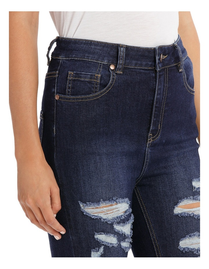 Riley Super High Waist Skinny Jean - Ripped Up image 4