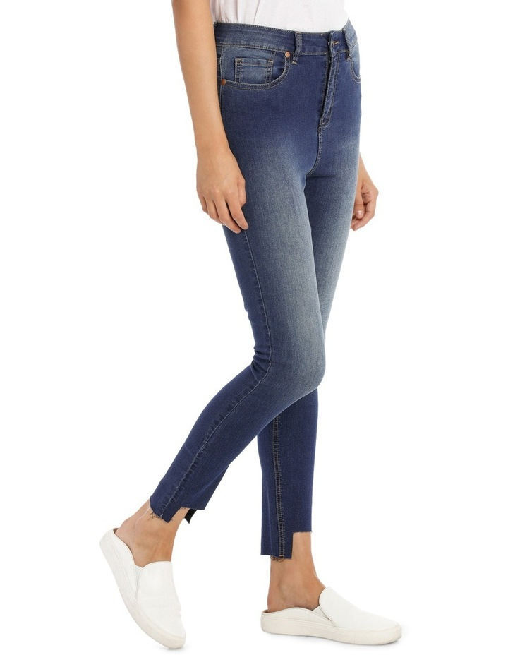 Riley Super High Waist Skinny Jean - Chopped Ankle image 2
