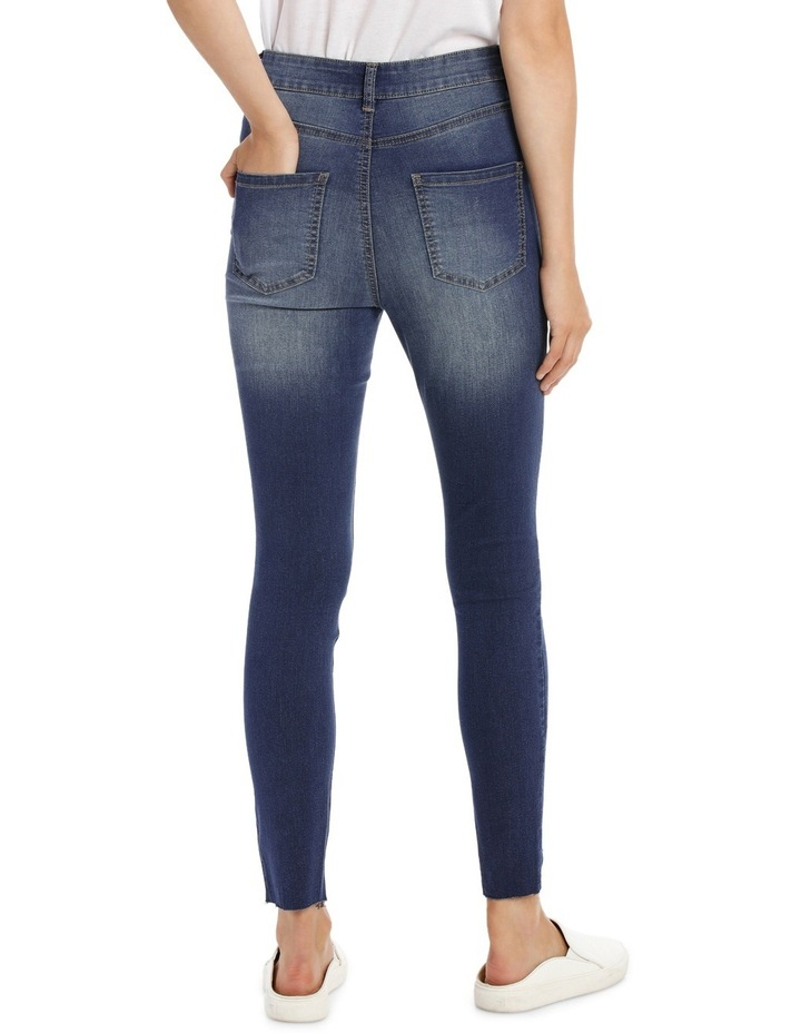 Riley Super High Waist Skinny Jean - Chopped Ankle image 3