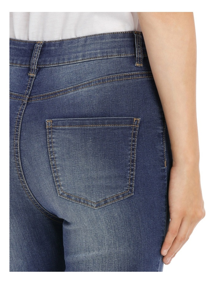 Riley Super High Waist Skinny Jean - Chopped Ankle image 4