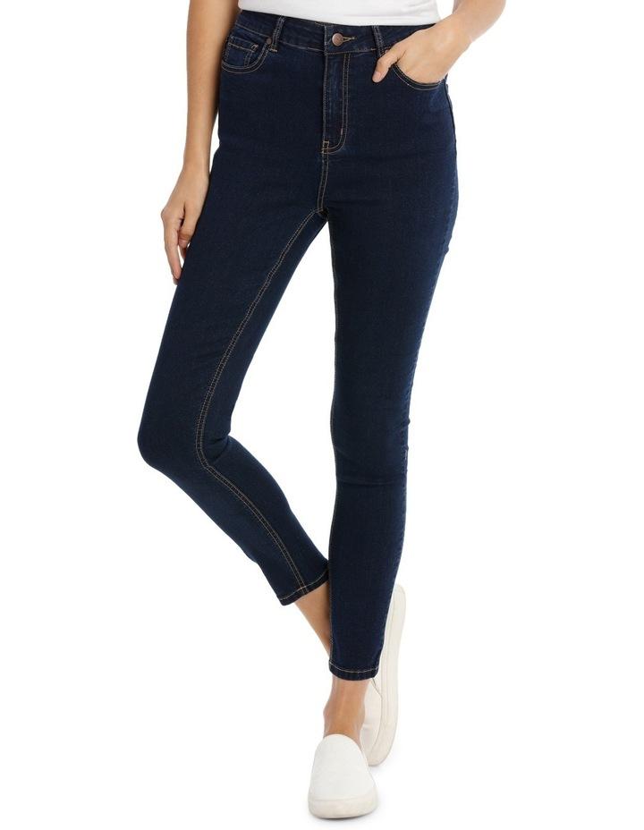 Miss Shop Riley Super High Waist Skinny Jean image 1
