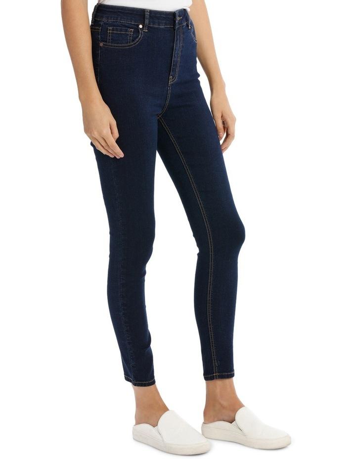 Miss Shop Riley Super High Waist Skinny Jean image 2