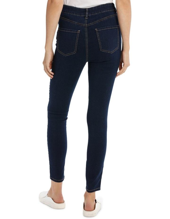 Miss Shop Riley Super High Waist Skinny Jean image 3