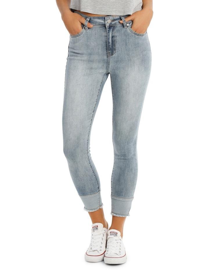 Riley Super High Waist Skinny Jean image 1