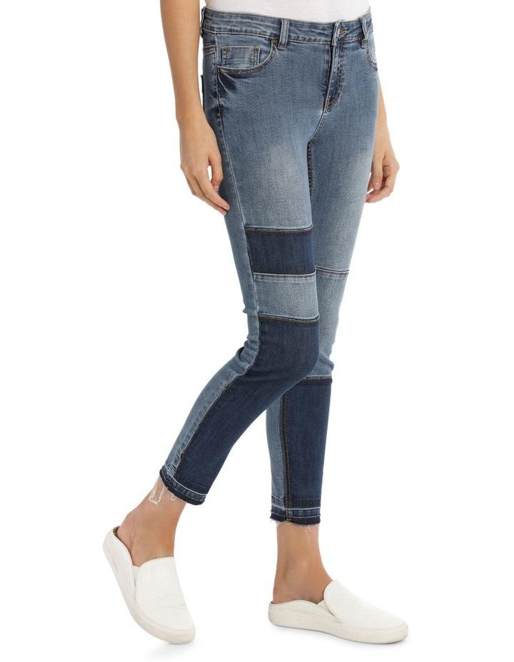Maddy Midrise Colour Block Skinny Jean image 2